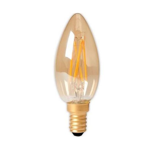 3,5W - E14 - Candle - Led - Filament Gold - Ec. 474489 - € 8.95